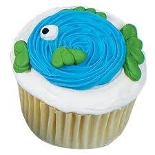 A fish cupcake :)