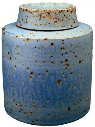 richard fairbanks - lidded container, covered jar