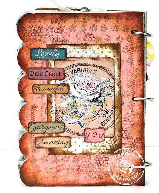 Selos Prima Julie Nutting boneca e Aglomerado livro - Seus muitos humores Wonderful