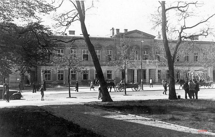 Siedziba Krajowej Szkoły Sądownictwa i Prokuratury (Pałac Morskich), Lublin - 1942 rok, stare zdjęcia