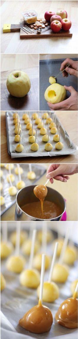 Карамельные яблочки для вашей вечеринки