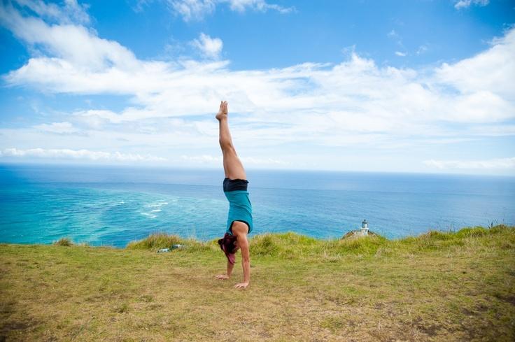 Handstands around the world!! New Zealand!!