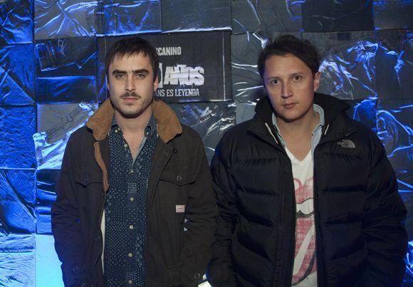 Nicolás Oyarzún y Nicolás Opazo