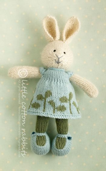 I love bunnies and this very talented lady makes gorgeous ones.
