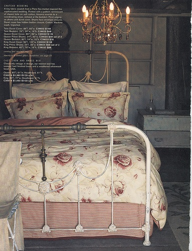 607 best Decorating with Iron beds images on Pinterest | Antique ...