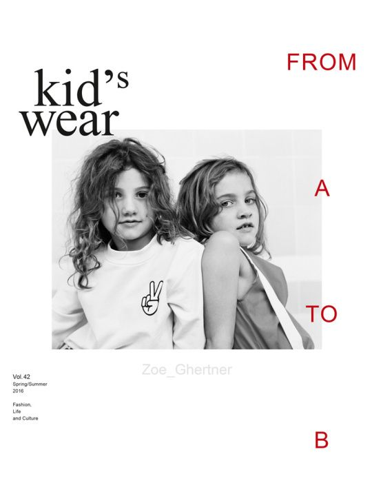 Kid's Wear - 2016 Vol.42