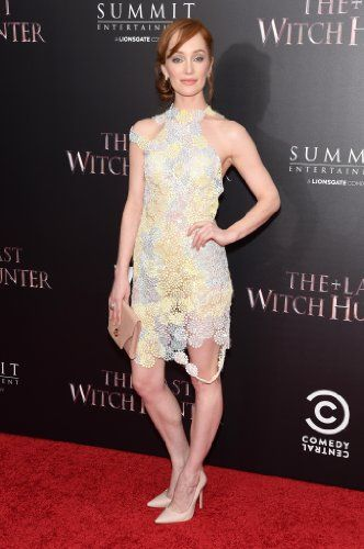 Lotte Verbeek at an event for The Last Witch Hunter (2015)