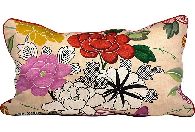 Manuel Canovas Linen Pillow on OneKingsLane.com:
