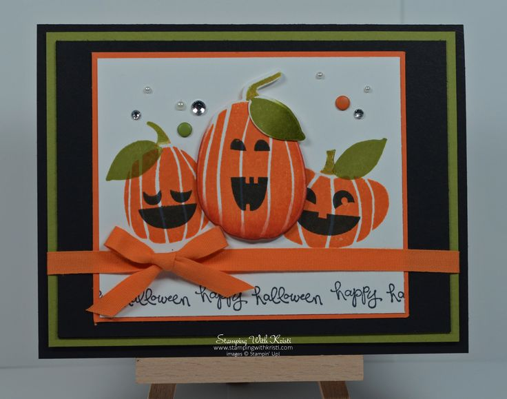 www.stampingwithkristi.com Stampin' Up!  Fall Fest and Fun Fall