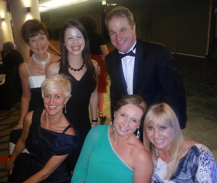 At the Newmarket Business Excellence Awards - Eden Park 2012