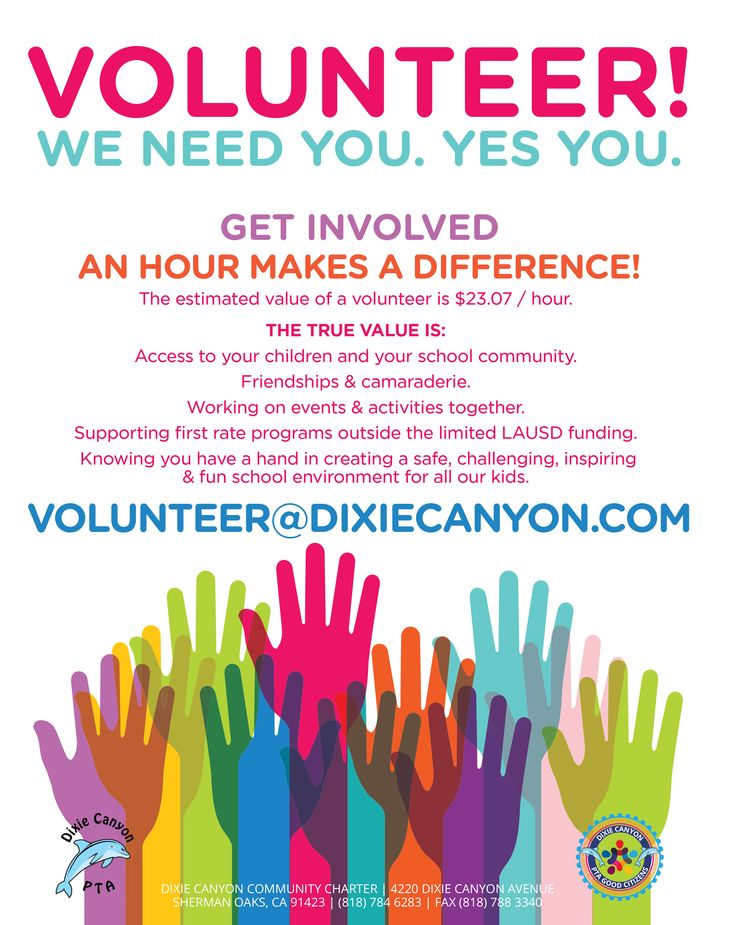 i want you to volunteer - photo #34