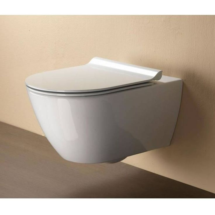 GSI Pura 50 Wall Hung Toilet with Slim Soft Close Seat