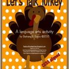 #sharethewealth #aneducatorslife Let's Talk Turkey Words is a language arts activity that is well suited to literacy centers or small group instruction. .