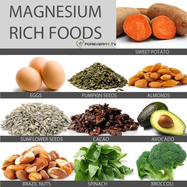 Magnesium Rich Foods List