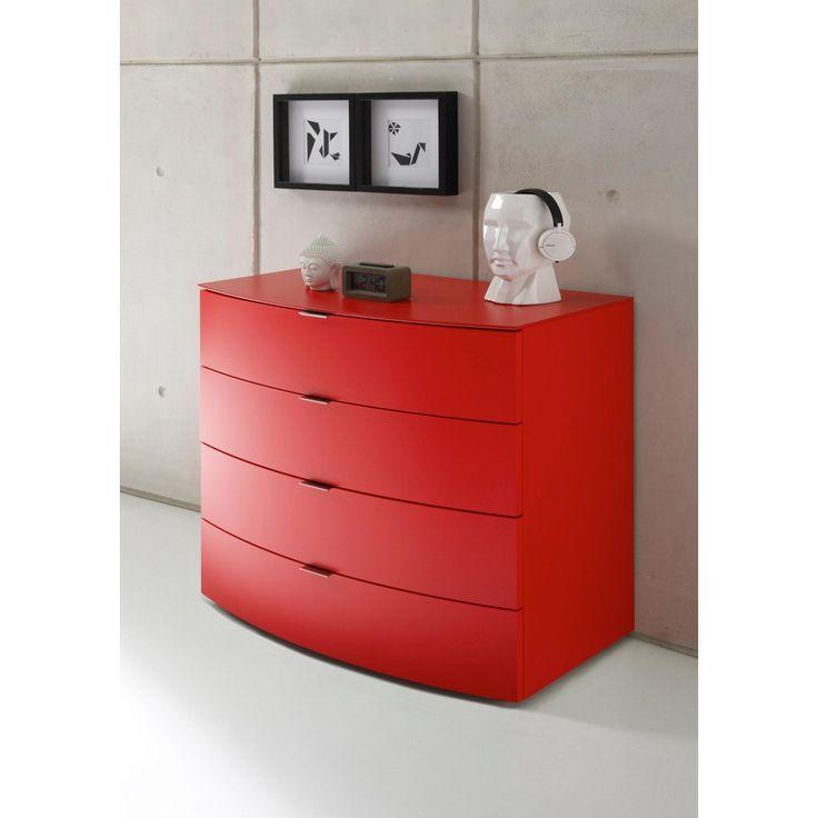 Die besten 25+ Rot lackierte kommoden Ideen auf Pinterest Rot - bilder wohnzimmer rot