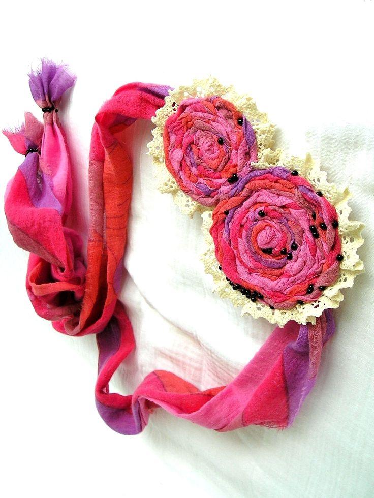 Hair accessories#Summer#Handmade