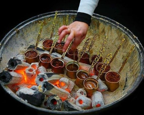 Turkish Coffee Traditional Cooking Style