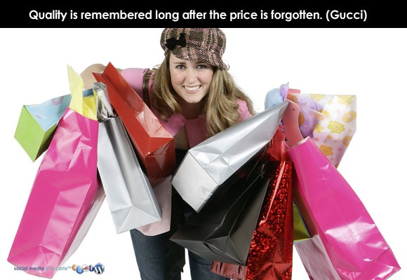 """Quality is remembered long after the price is forgotten."" (Gucci) There IS no such thing as expensive; only whether you value it enough or not.: Gucci, Hairdressers, Remembered Long, Motivation, Branding, Expensive, Marketing Lesson, Forgotten, Create"