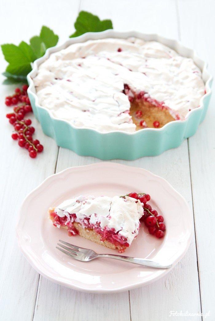 Red Currant Meringue Cake.