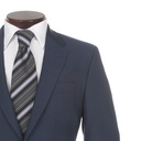 Paul Smith Suits - Petrol Blue Slim Fit 2 Button Suit, The Byard - pfxl-9337-w06-s-detailb