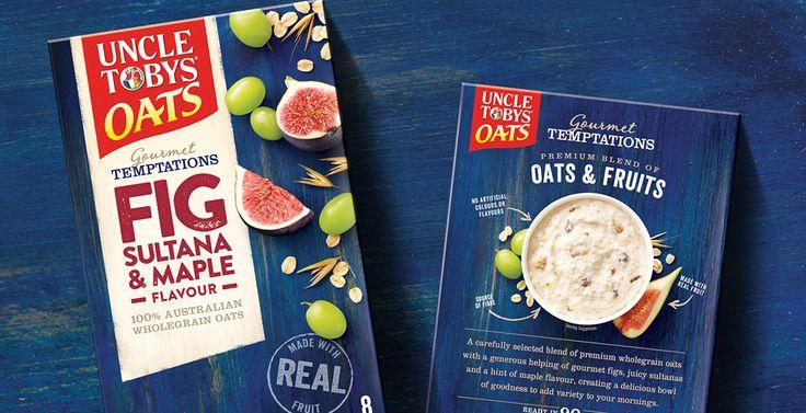 Gourmet Temptations Oats Branding