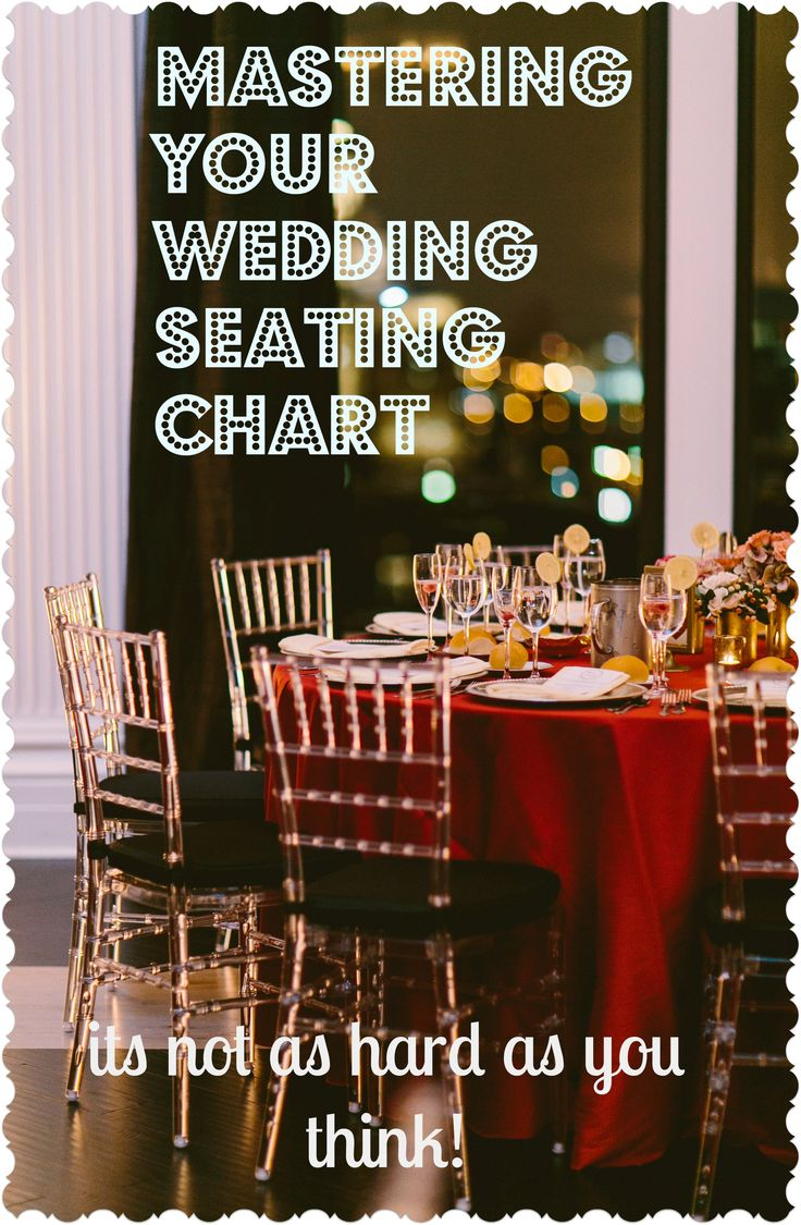 MoxieBride shares her top tips for mastering your wedding seating chart.