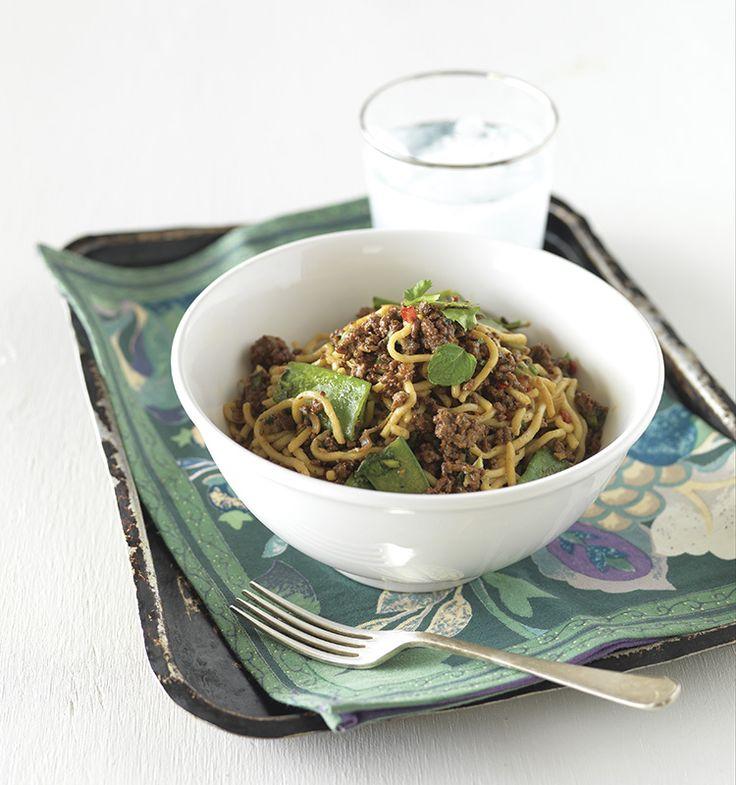 Thai Lamb Noodle Toss