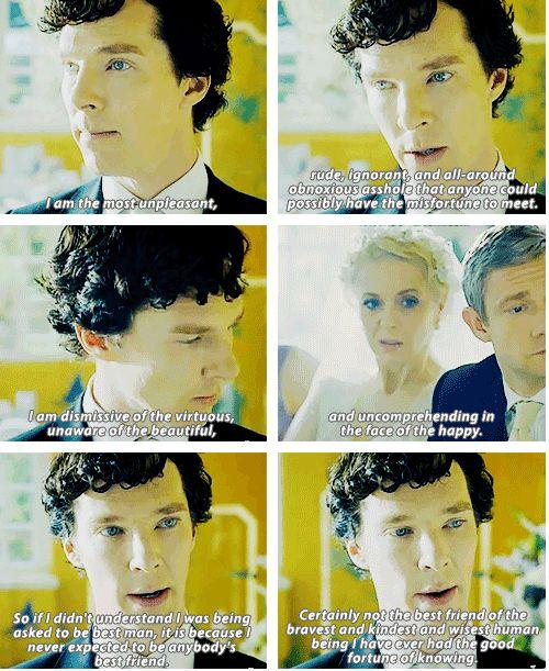 Best friend like Sherlock