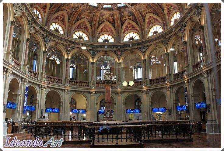 Visita al interior del Palacio de la Bolsa de Madrid by IdeandoArt