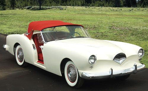 1954 Kaiser Darrin - Probably the most beautiful car I've ever seen.