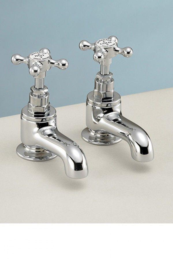 Silverdale Victorian bath pillar taps | Bath Taps | Taps