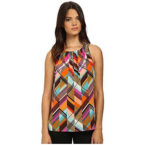 (トリーナターク) Trina Turk レディース トップス スリーブレスシャツ Bella 2 Top 並行輸入品  新品【取り寄せ商品のため、お届けまでに2週間前後かかります。】 カラー:Multi 商品番号:ol-8585934-767