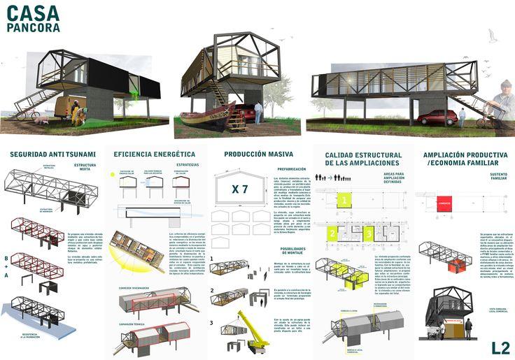 laminas arquitectura concursos - Buscar con Google