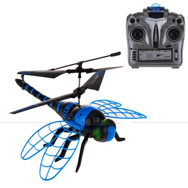Dragon Helicopter - Radio Control - Blue #dragon #helicopter #radiocontrol #cellz #kids #toy