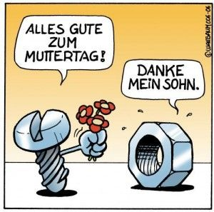 Alles Liebe an alle Mamas!