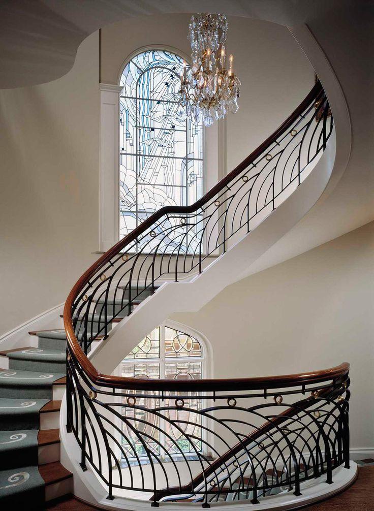 лестницы в стиле модерн фото