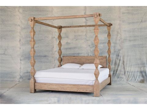 SMOKEHOUSE KING POSTER BED $3160