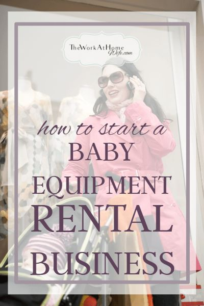 Looking For A Unique Home Business Idea How About Starting A Baby Equipment