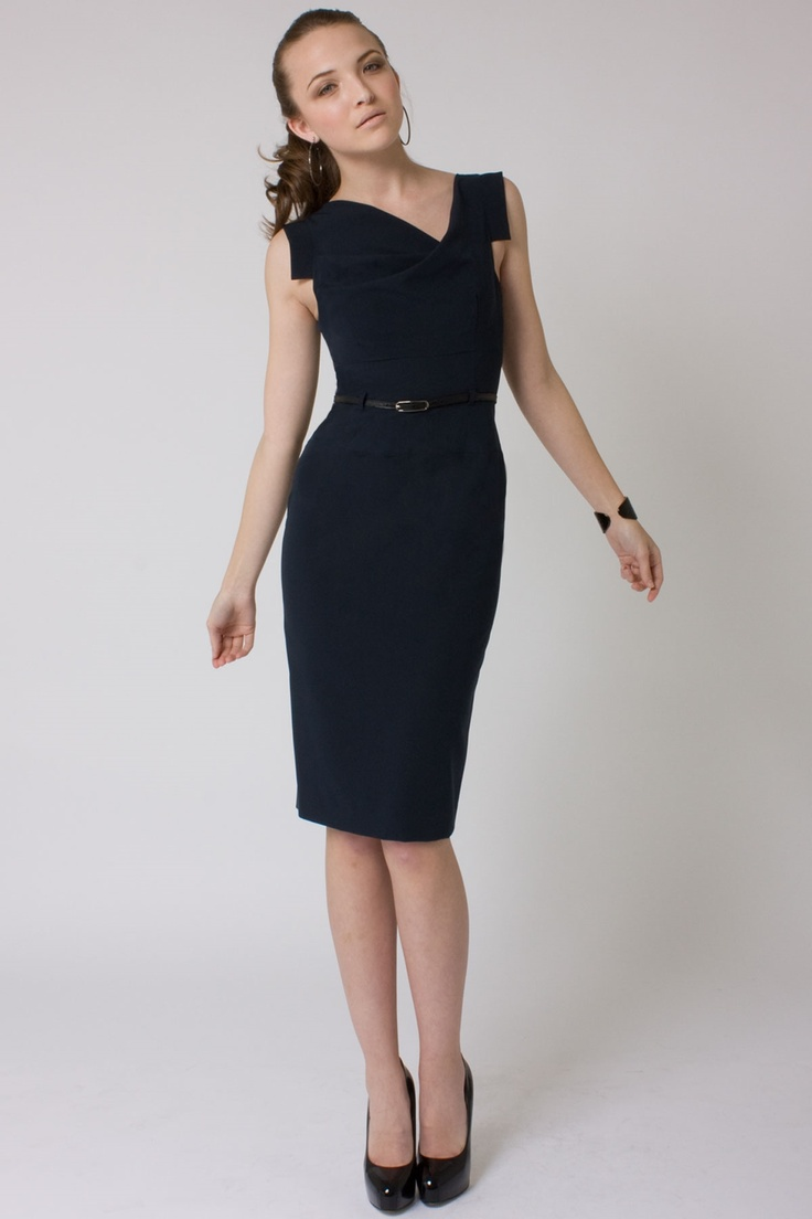 Classic fitted pencil dress