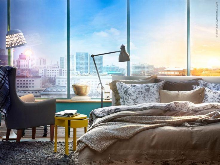 mysigt sovrum – IKEA 2015.: Sovrum Ikea, Room Ideas, Yeni Ikea, Ikea ...