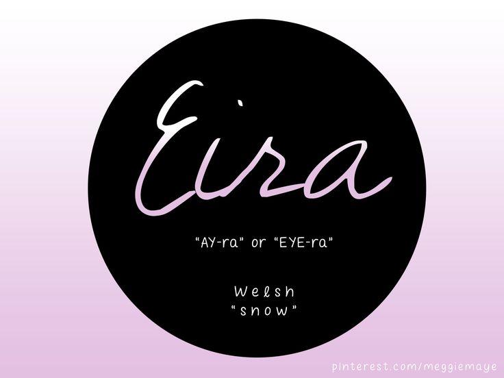 "Eira Welsh. ""Snow."""