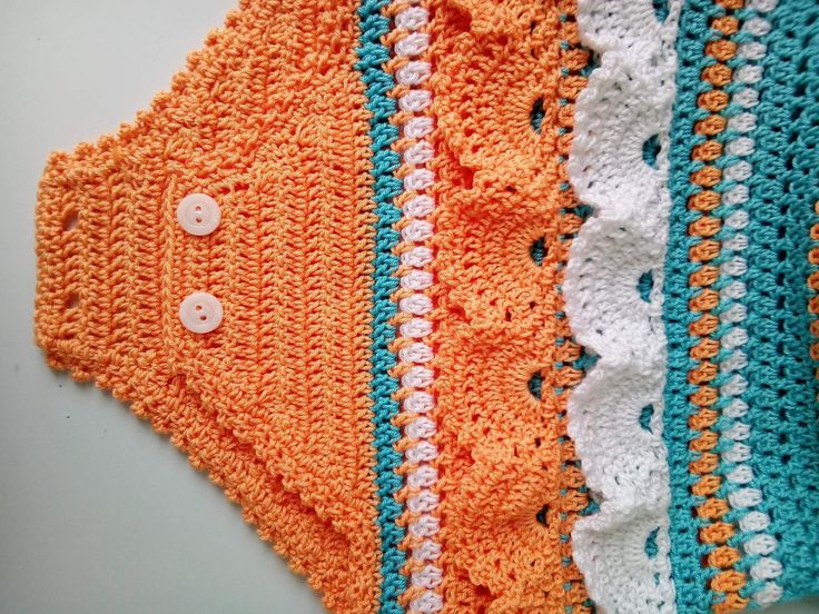 Knitted clothes for babies, knitted overall for a child, Gift for an infant. Body with lace for a li