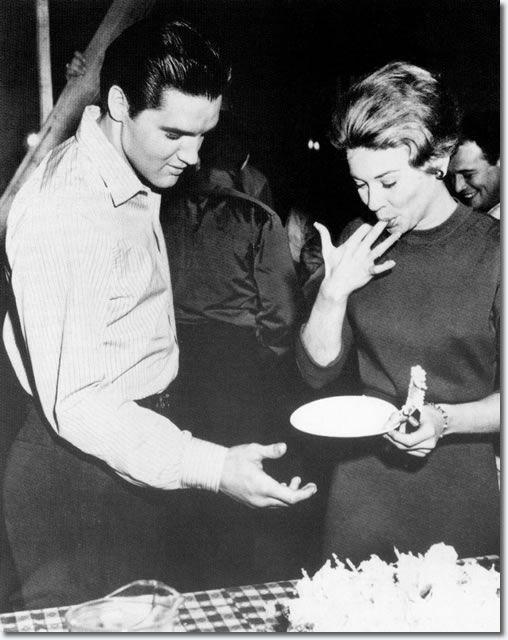 Elvis Presley Friday, January 6, 1961 - Elvis' 26 birthday party