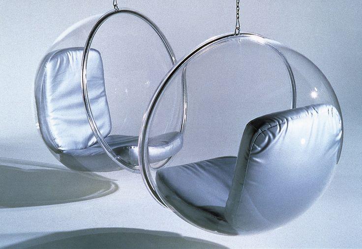#BubbleChair de #EeroAarnio.