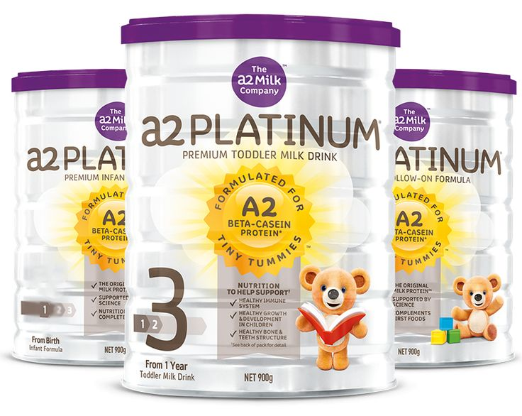 The a2 Milk Company infant formula has the benefits of the A2 beta- casein protein in their baby formulas.