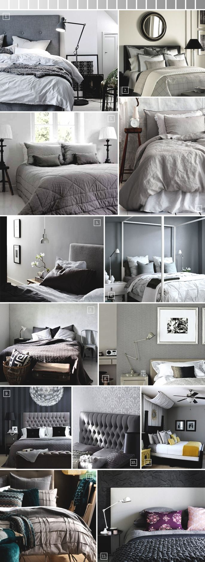 Grey Bedroom Ideas, Decorating Tips, and Design Pictures | Home Tree Atlas