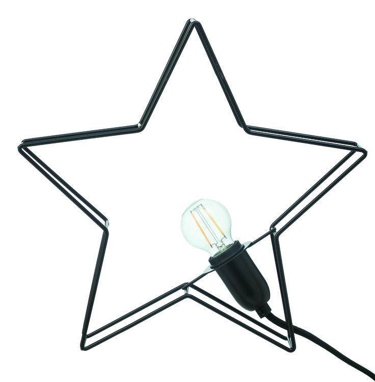 Deze lamp in de vorm van een ster is een echte sfeermaker op elk feestje. Hij is natuurlijk ook heel gezellig om thuis lekker aan te hebben. #feest #lamp