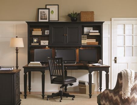 Avery-Dark OfficeAvery-Dark Office          SKU: AH1270140  U-Desk, Hutch. Full office collection available.The Upper Room Home Furnishings, Ottawa's Premier Home Furniture Store.