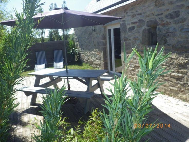 in Ploumoguer: 2 Schlafzimmer, für bis zu 6 Personen, ab 750 € pro Woche. Old Charme und modernem Komfort, ruhigen und nahe am Meer   FeWo-direkt