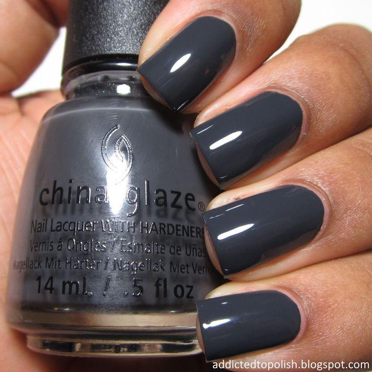 China Glaze Out Like A Light   Addicted to Polish